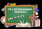 Základná škola s materskou školou, Malonecpalská ulica 206/37, Prievidza