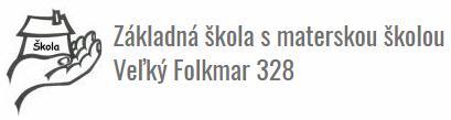 Základná škola s materskou školou, Veľký Folkmar 328, Veľký Folkmar